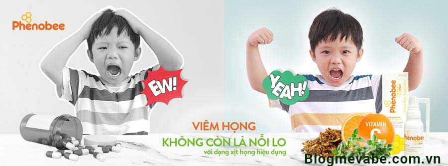 Review keo ong xịt họng Phonebee